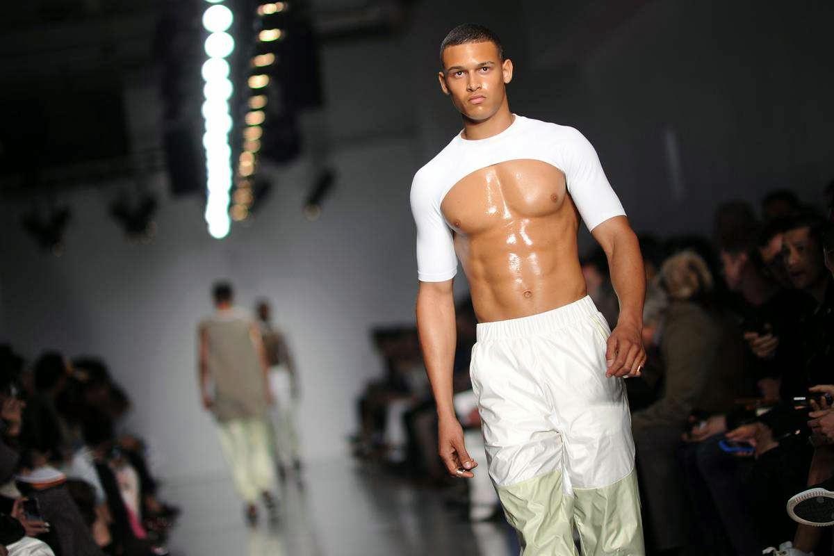 geeks fashion male models rule the runway
