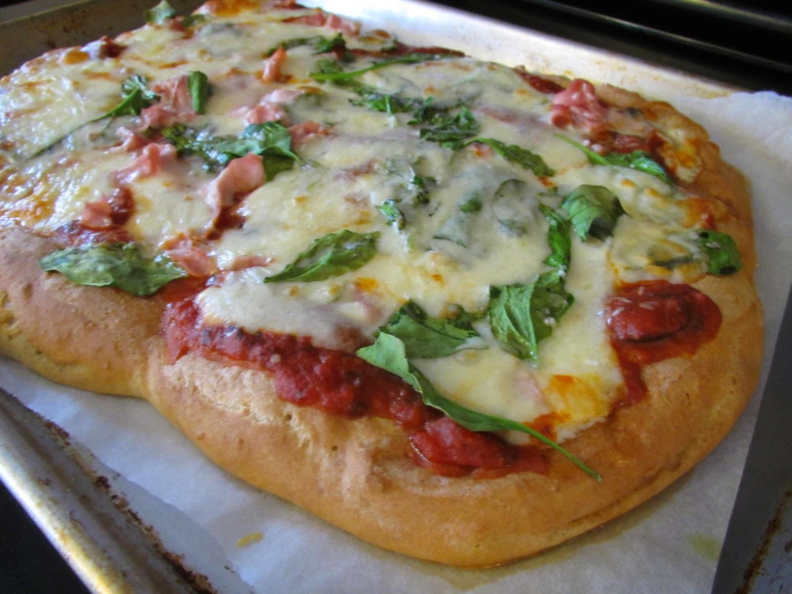 Gluten Free Focaccia Bread Pizza