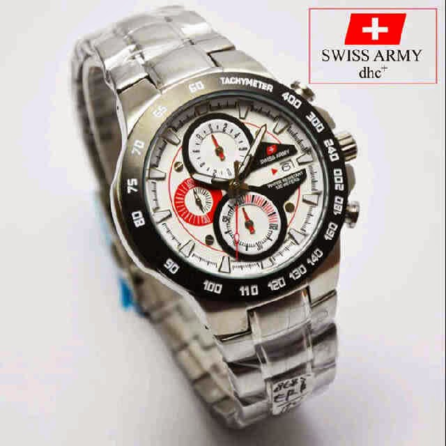 Swiss Army SA 8685 SS Original putih