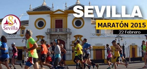 Publicidad de la Maratón de Sevilla