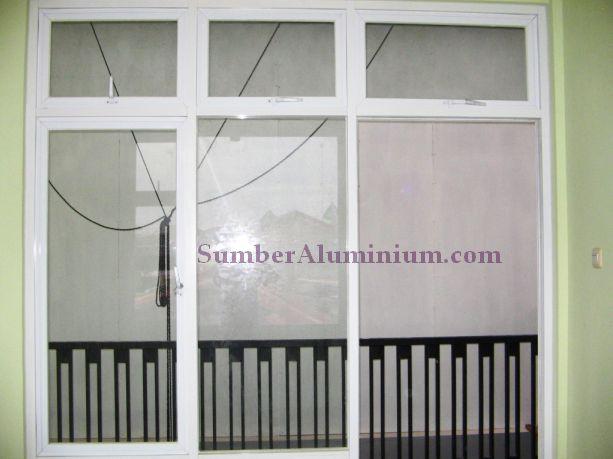 Kusen Aluminium Warna Putih
