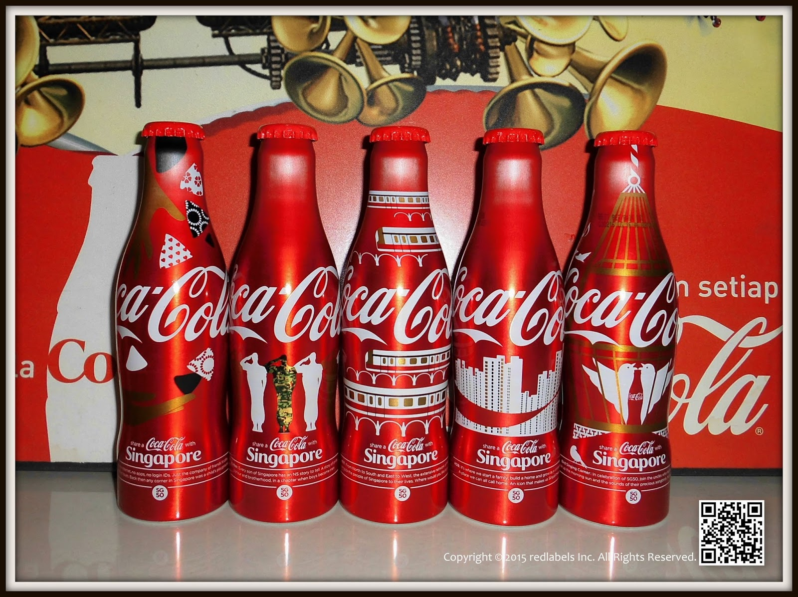 aluminum bottle collector club coca cola share a coke with singapore sg50 national day. Black Bedroom Furniture Sets. Home Design Ideas