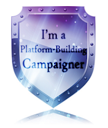 third writer's platform-building campaign