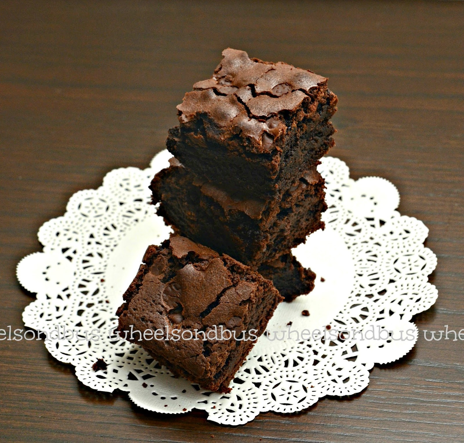 ... : Brownies Challenge : Recipe #1 Brooke's Bombshell Brownies