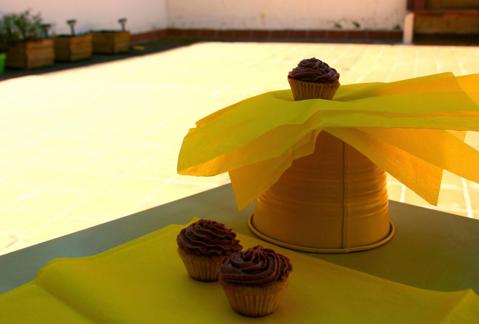 Cupcakes d'ametlla i mora