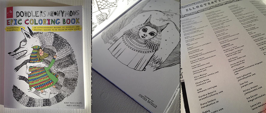 Brand New Book And Its Filled With 90 Funky Illustrations Including One Of Mine So Colour Away My Friends Or Spread The Rainbow