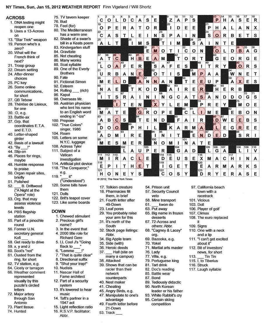 Crossword+Heaven Melange Crossword Heaven
