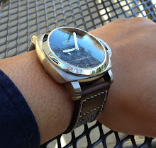 Gabe's PAM312 on Vintage Swiss Canvas/Leather
