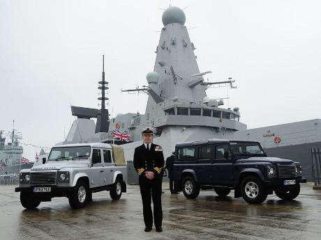 Land Rover Defender juga dipakai tentara Inggris
