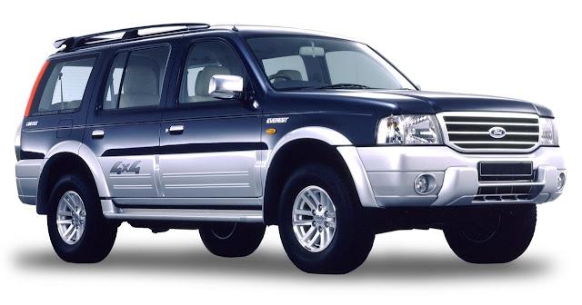 Cho thuê xe Ford Everest 7 chỗ