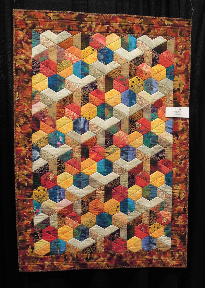 Quilt Patterns With Y Seams : Quilt Inspiration: Quilts of illusion: tumbling blocks