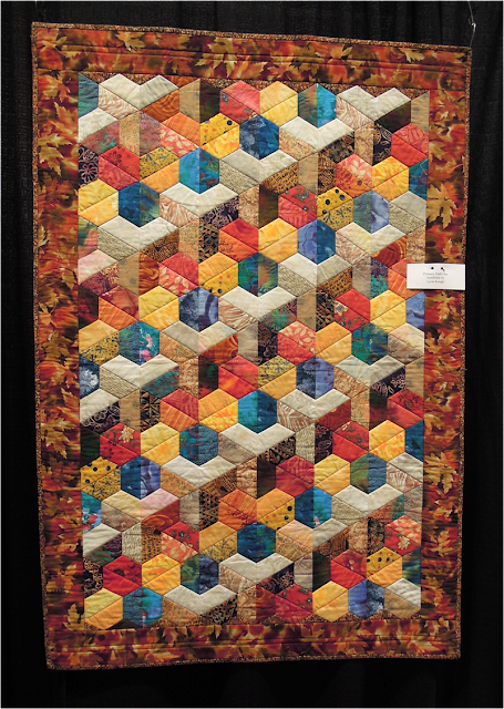 Quilt Inspiration Quilts Of Illusion Tumbling Blocks