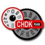 CHDK Logo, RAW