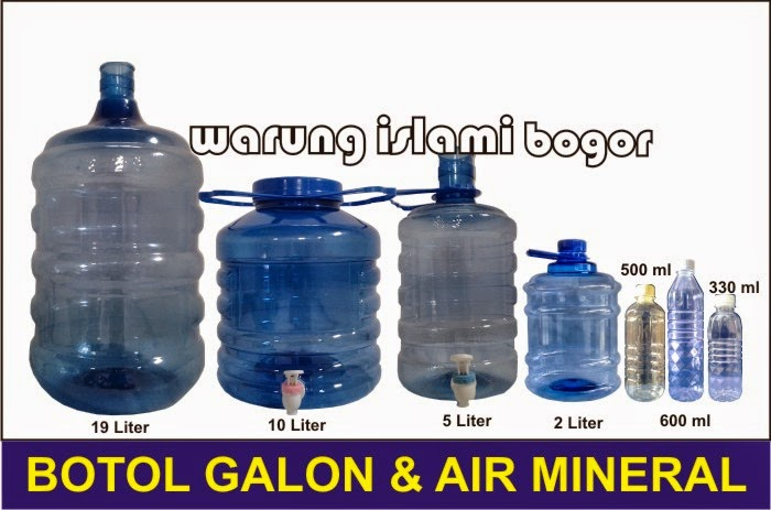 Jual Galon Air Minum 5 Liter Handle Kran