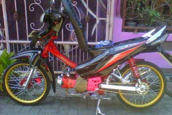 Revo Fit fi Modif Modif Motor Honda Revo Absolut