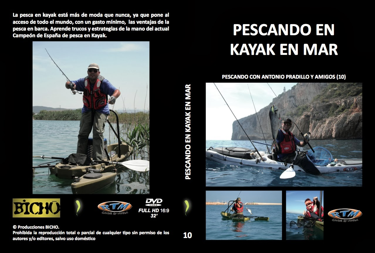DVD PESCA EN KAYAK EN EL MAR (ver trailer)