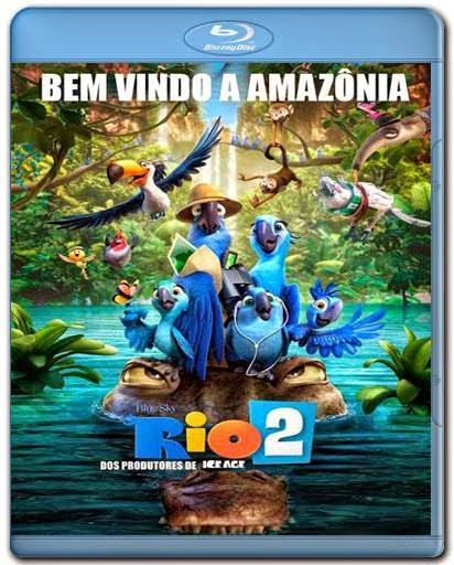 Baixar Filme Rio 2 3D 1080p Dual Audio Bluray Download vi