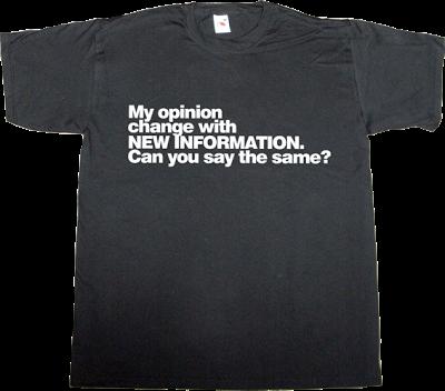 brilliant sentence wisdom intelligence open mind t-shirt ephemeral-t-shirts