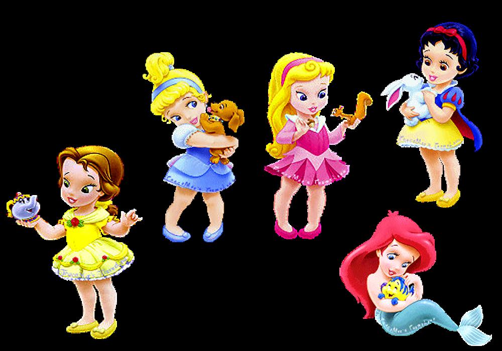 Princesas Baby em PNG para colocar em suas montagens