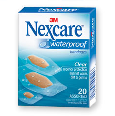 Ramblings Thoughts, Review, Waterproof, Bandages, Nexcare, Video Review,