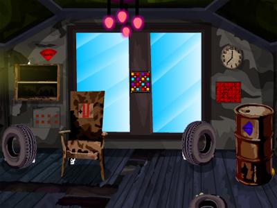 Juegos de Escape Escape From Abandoned Hallway Solución