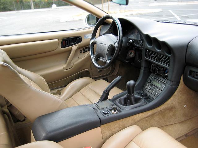 Mitsubishi 3000GT, GTO, japoński, sportowy samochód, grand tourer, twin turbo, wnętrze