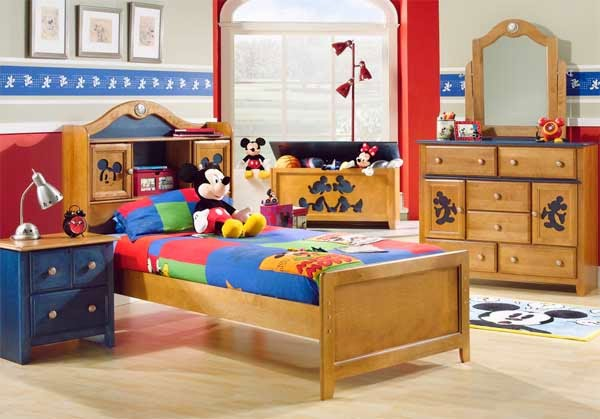 غرفة نوم اطفال ميكي ماوس