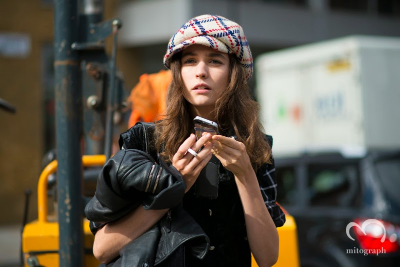 mitograph Manon Leloup After Christopher Kane London Fashion Week 2014 Spring Summer LFW Street Style Shimpei Mito