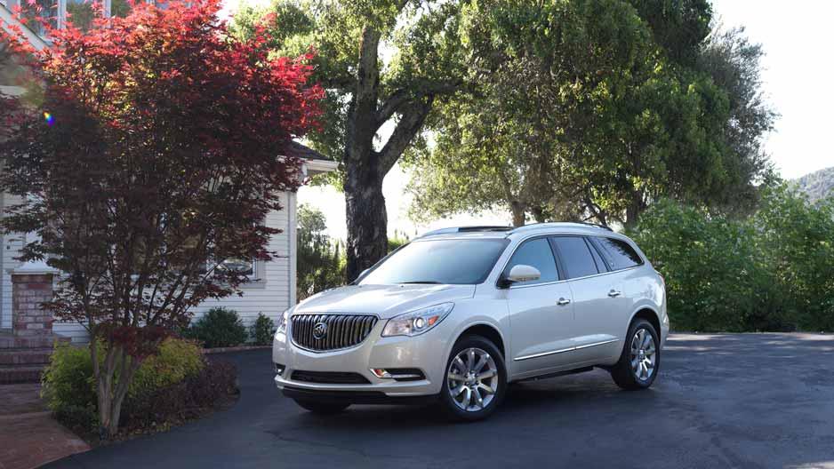 Buick Enclave - Một dòng xe hạng sang đắt giá của Buick