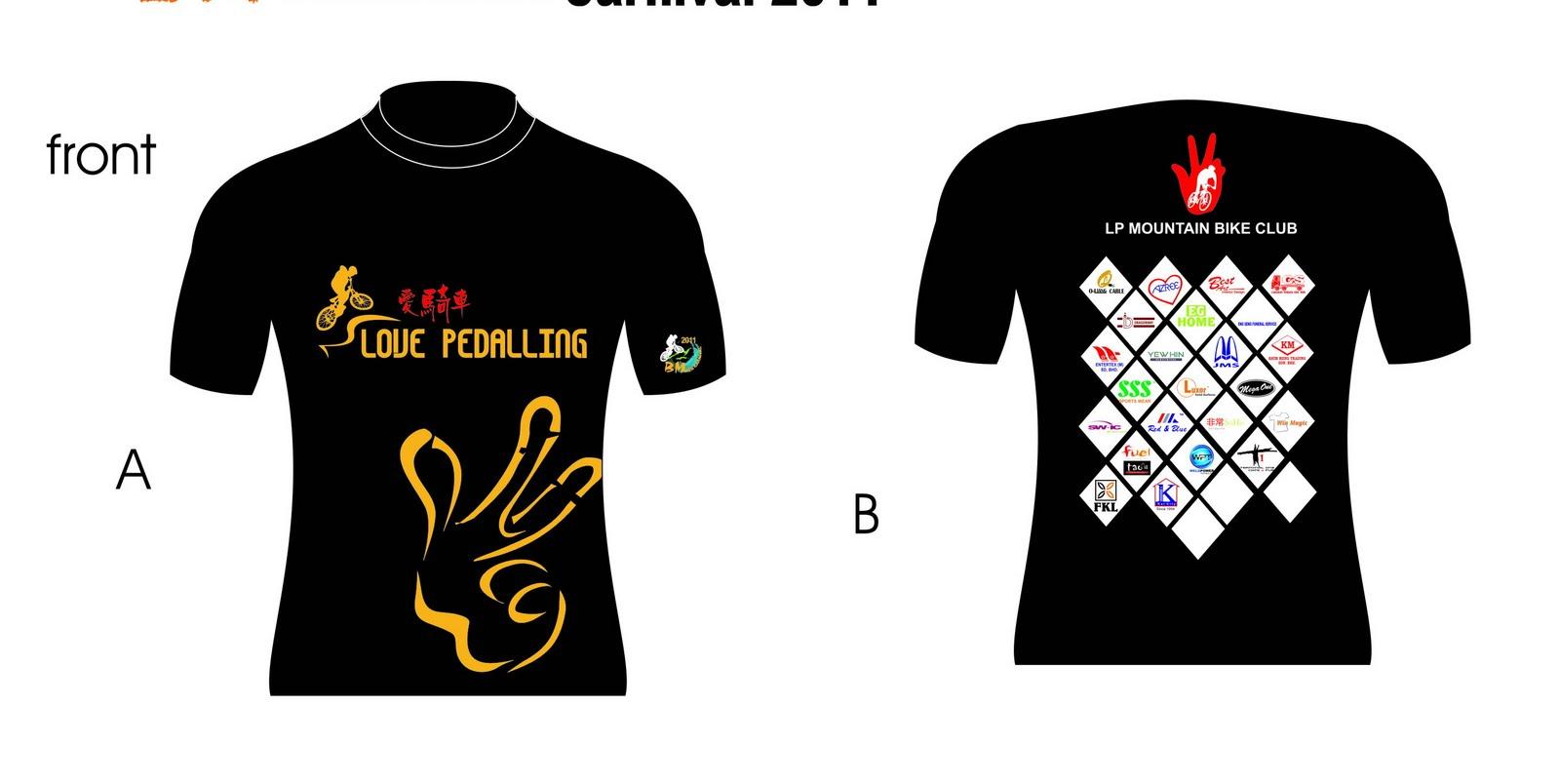 BM MTB CARNIVAL 2011: T-shirt Design