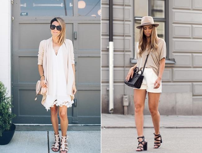 Hello Fashion, bright Look, beige Look, white Shhorts, Lisa Olsson