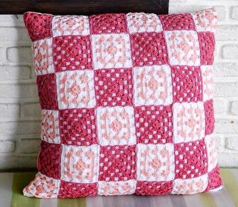 Cojines tejidos a crochet con gráficos para imprimir ~ cositasconmesh