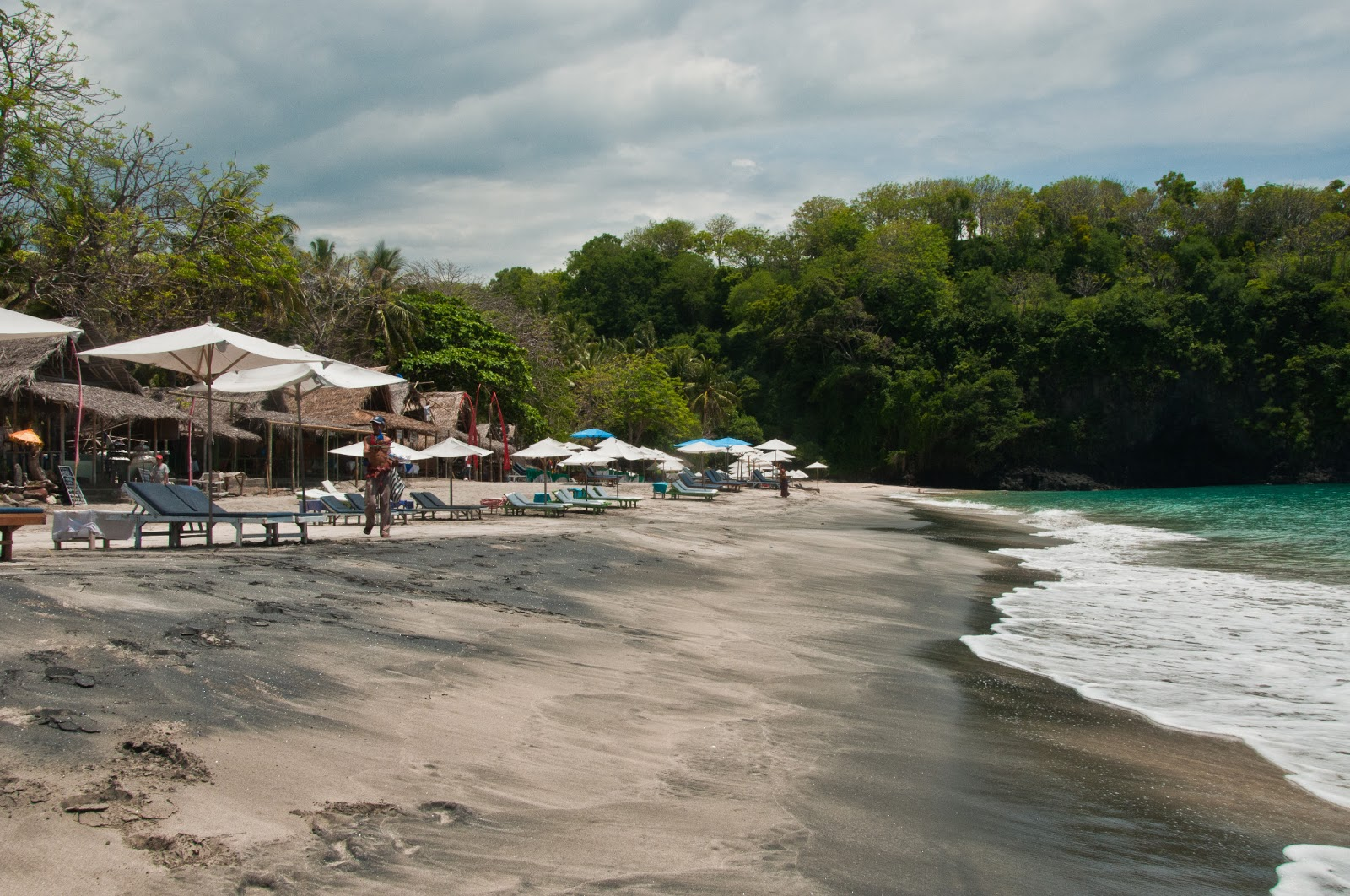 White sand beach karangasem bali indonesia for White sand beach vacations