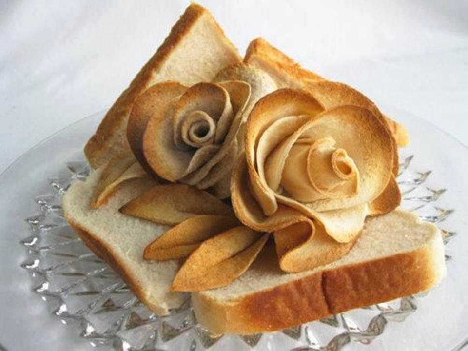 bread rose art