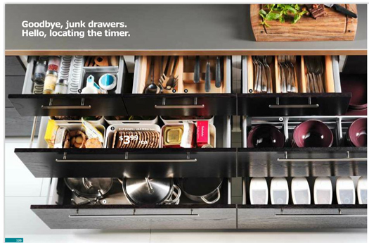 Endless Amounts Of Kitchen Drawer Storage. Smart Smart Storage.