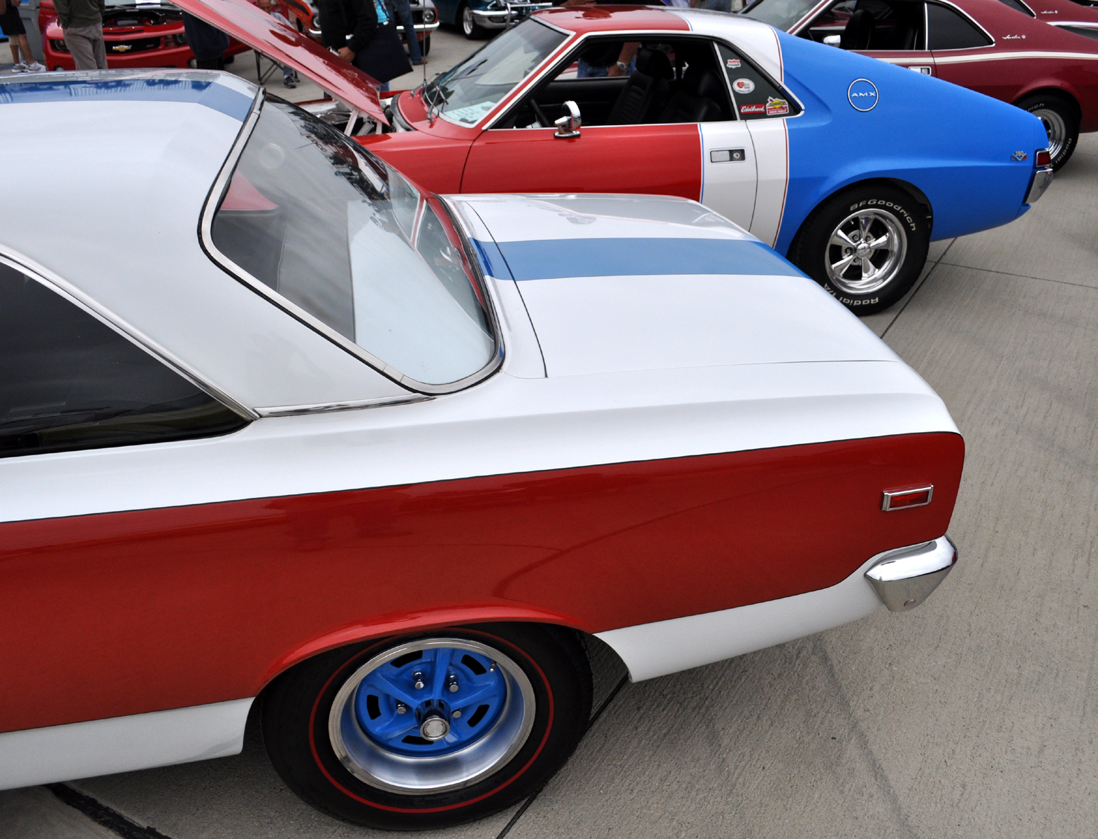 Just A Car Guy: Very rare AMC muscle cars together, and that is ...