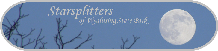 Starsplitters of Wyalusing State Park