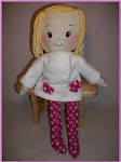 Rag doll pattern - Sweet Pea