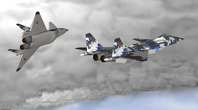 Russia Fifth Generation Fighter-Jet