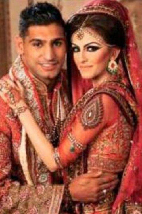 hollywood stars amir khan boxer wife amir khan wedding
