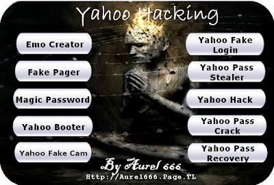 Download Yahoo Hacking Tools