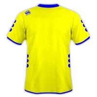 Jersey Bola Warna Kuning Bergaris