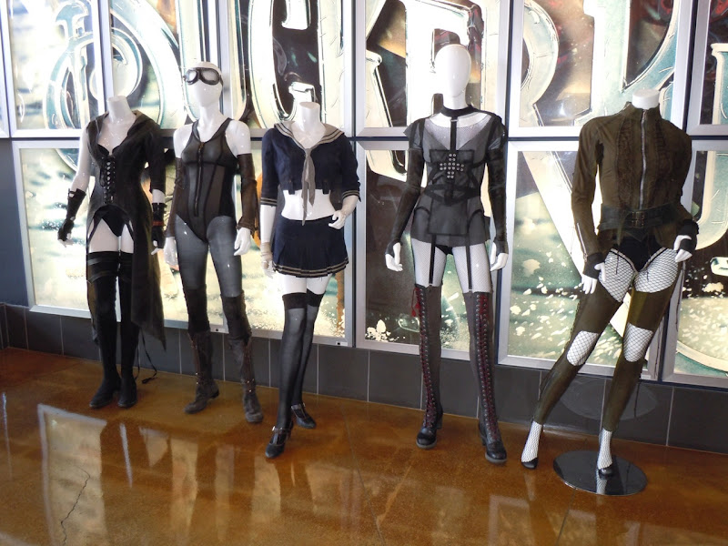 Original Sucker Punch film costumes
