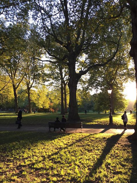 Instagram Lifestyle Post London Park Summer Sunshine