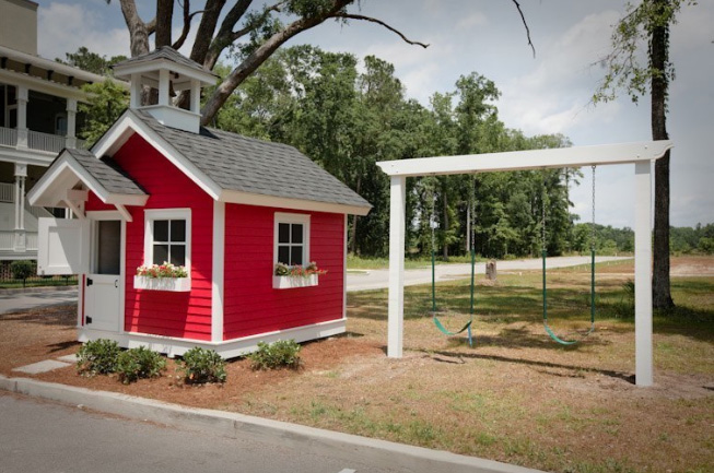 Aplaceimagined more fun playhouses for School playhouse