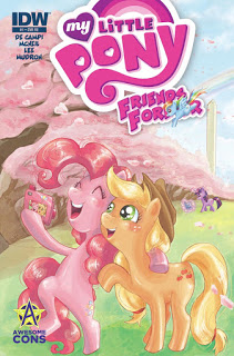"""My Litte Pony:Friends Forever"" #1 Exclusive Cover"