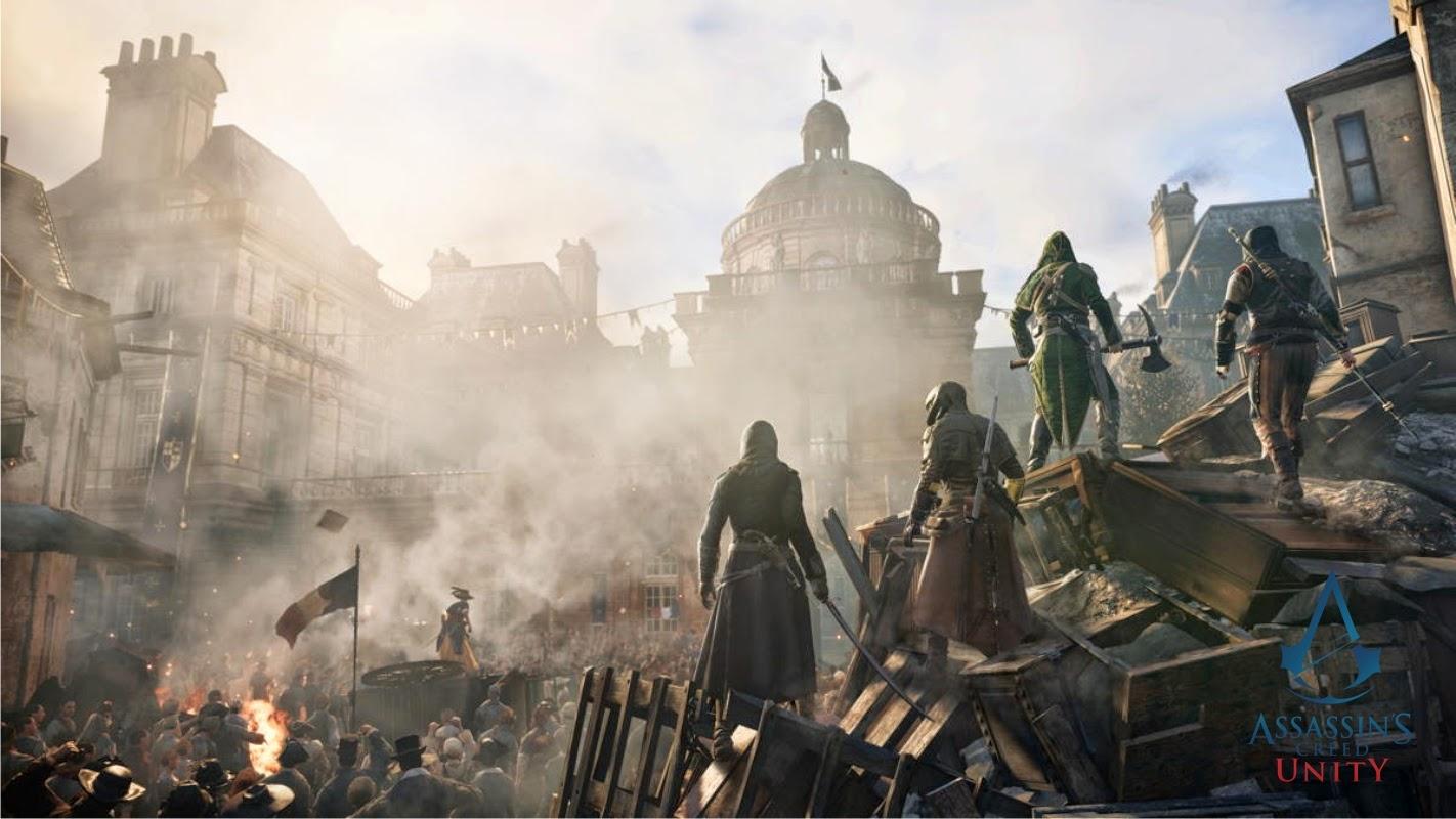 WallpapersKu: Assassinu0026#39;s Creed Unity Wallpapers