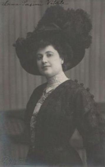ITALIAN SOPRANO LINA PASINI-VITALE (1872 - 1959) CD