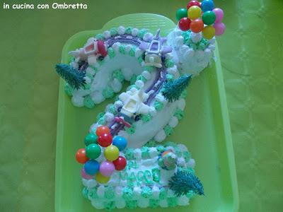 torta del 2° compleanno del mio bimbo