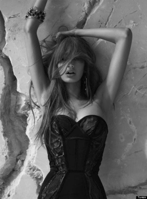 Le mannequin tunisienne Kenza Fourati